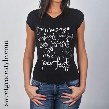 Camiseta mujer SGS 005 Black
