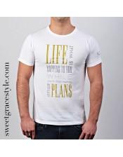 Camiseta hombre SGS 027 White