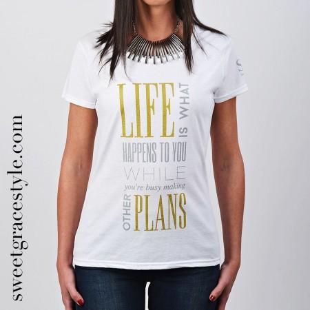 Camiseta mujer SGS 027 White