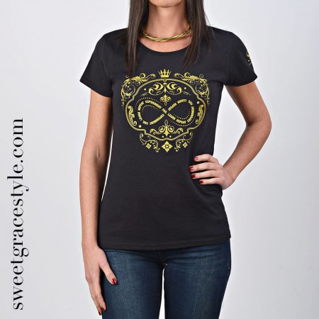 Camiseta mujer SGS 029 Black